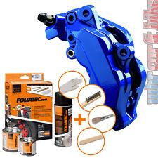 Foliatec 2162 Bremssattel Lack Set RS-Blue blau glänzend 7-tlg hitzebeständig