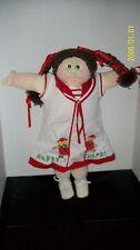 SOFT SCULPTURED CABBAGE PATCH doll u EDITION GIRL    handsigned