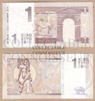 Europe 1 Euro 2014 Type C P-1 UNC NEUF NEU SPECIMEN Test Note Banknote - Zeus