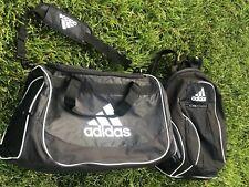 Adidas Defender Duffle Sport Bag + Black Adidas Climacool Backpack Soccer