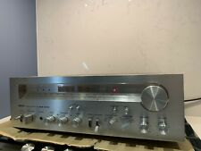 RARE.Akai AA-1175 Stereo Receiver Mid 70s Vintage Amplifier. Show Piece. Silver.