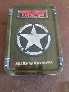 Flames Of War. US. Army.  Dice, Tokens & Tin. Full.