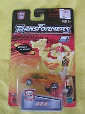 2001 Spy Changers R.E.V. Hasbro Transformers Robots in Disguise New & Sealed
