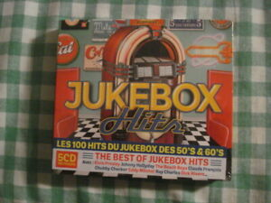 COFFRET NEUF SOUS CELLO 5 CD JUKEBOX HITS DES 50'S & 60'S 100 TRACKS