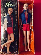 VINTAGE BARBIE KEN BENDABLE LEGS W/BOX - 1964 MADE IN JAPAN -