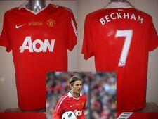 Manchester United XL BECKHAM Neville Testimonial Shirt Jersey Football Soccer