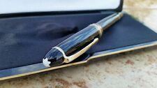 Gorgeous, Genuine, MONT BLANC,14K Nib, 4810, Vintage, Germany,Black,Fountain Pen