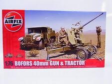 Interhobby 43593 Airfix A02314 Bofors 40mm gun & Tractor 1:76 Bausatz NEU OVP