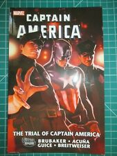 MARVEL THE TRIAL OF CAPTAIN AMERICA TPB NEW UNREAD