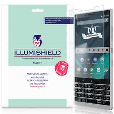 3x iLLumiShield Matte Screen Protector Anti-Glare for Blackberry KEY2 (BBF100-2)