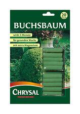 CHRYSAL Buchsbaum Düngestäbchen, 20 Stäbchen