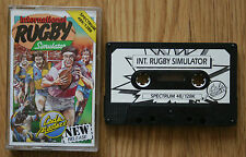 Sports Sinclair ZX Spectrum Codemasters Video Games
