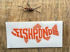 Fishpond Trout Fly Fish die cast decal