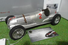 MERCEDES BENZ W125 de 1937 HERMANN LANG #2 GP Donington 1/18 CMC M-114 voiture