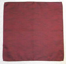 HANDKERCHIEF TOP POCKET CLASSIC SQUARE HANKIE FORMAL WEDDING DINNER RED WINE