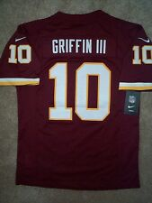 STITCHED/SEWN Redskins ROBERT GRIFFIN III RG3 nfl NIKE LIMITED Jersey YOUTH xl