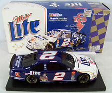 1998 Action 1:24 RUSTY WALLACE #2 Elvis TCB Miller Lite BWB Diecast Car! MIB