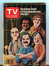 TV Guide Magazine July 16-22 1977 Barney Miller EX 071616jhe