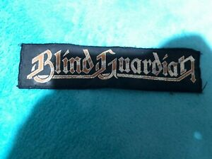 Blind Guardian,Patch,Metal Patch,Goldene Schrift,Rücken Patch,