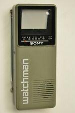 Sony Watchman model FD-10A. She powers up.