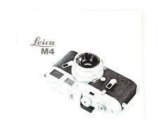 Leica M4 Manual In German