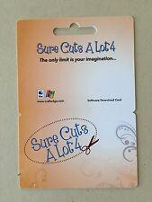 Sure Cuts A Lot 4 Electronic Cutting Machine Software