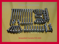Yamaha FZR1000 / FZR 1000  V2A Edelstahl Schraubensatz Motor V2A Schrauben
