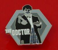 Danbury Mint Enamel Pin Badge BBC TV Doctor Who Dr Who The 2nd Second Doctor