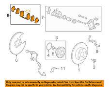 HONDA OEM Brake-Rear Pads 43022TA0A41