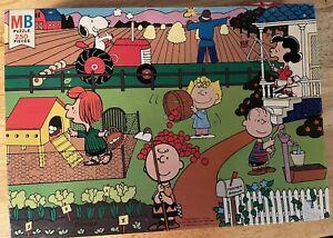 Vintage 1976 Peanuts Farmer Brown Puzzle