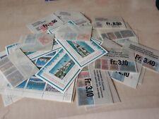 Schweiz Frankaturware  96,25 Franken
