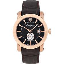 Montegrappa NeroUno Sub Seconds Men's Watch  IDNRWACB  Swiss Made vvRose Gold