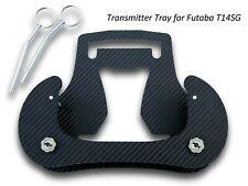 Bandeja de transmisor para Futaba T14SG Aspecto de Carbono 3D