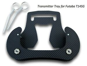 Transmitter Tray for Futaba T14SG Carbon 3D Look