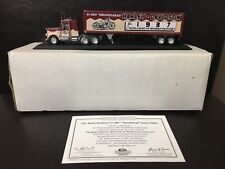Matchbox Collectibles 1937 Harley-Davidson 61 OHV Knucklehead Tractor Trailer