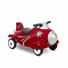 Rocket Radio Flyer Retro Ride Lights Sounds Toy Red Sound Model Christmas Gift 1