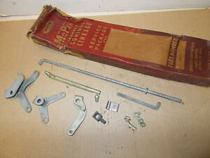 Mopar NOS Throttle Control Linkage Package 41 Plymouth, Dodge