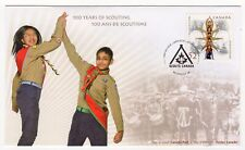 Scouting in Canada 100th Anniversary Commemorative First Day of Issue Cover