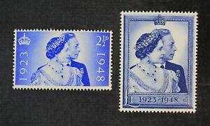 CKStamps: Great Britain Stamps Collection Scott#267 268 Mint NH OG