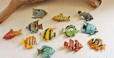 Streudeko 12 tropische Deko-Fische je ca. 3-4 x 3 cm aus Kunstoff