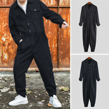 AU STOCK Men's Casual Jumpsuits Overalls Cargo Work Pants Coveralls Trousers