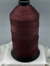 Burgundy Wine Sewing Thread #69 Bonded Nylon T70 16oz Spool Made In USA N339