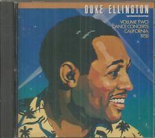 DUKE ELLINGTON  - CD - Dance Concerts California 1958 - Volume Two  - LIKE NEW