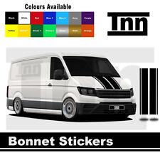 Bonnet Stickers For Volkswagen VW Crafter MWB LWB Graphics Stripes Decals Van