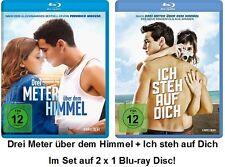 Drei Meter über dem Himmel +  Ich steh auf Dich Blu-ray Disc im Set NEU + OVP!