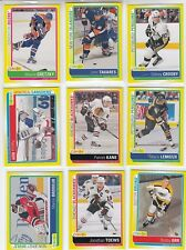2013-14 O-PEE-CHEE STICKERS COMPLETE SET 100 CARDS