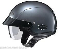 HJC IS-Cruiser Motorcycle Half Helmet Anthracite XXL 2XL 2X Sunshield DOT
