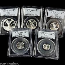 1992 Silver Mexican Libertad 5 Coin PROOF Set PR-69 DCAM PCGS 1.9 Troy Oz .999