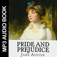 🎧 Pride and Prejudice - Jane Austen audio books MP3, love novel,digital product
