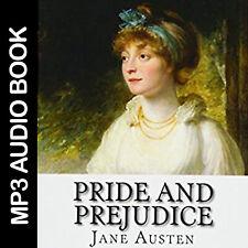 🎧 Pride and Prejudice - Jane Austen audio books MP3, love novel,digital product